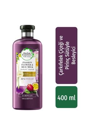 Herbal Essences Şampuan Besleyici Çarkıfelek Çiçeği Ve Pirinç Sütü 400 Ml