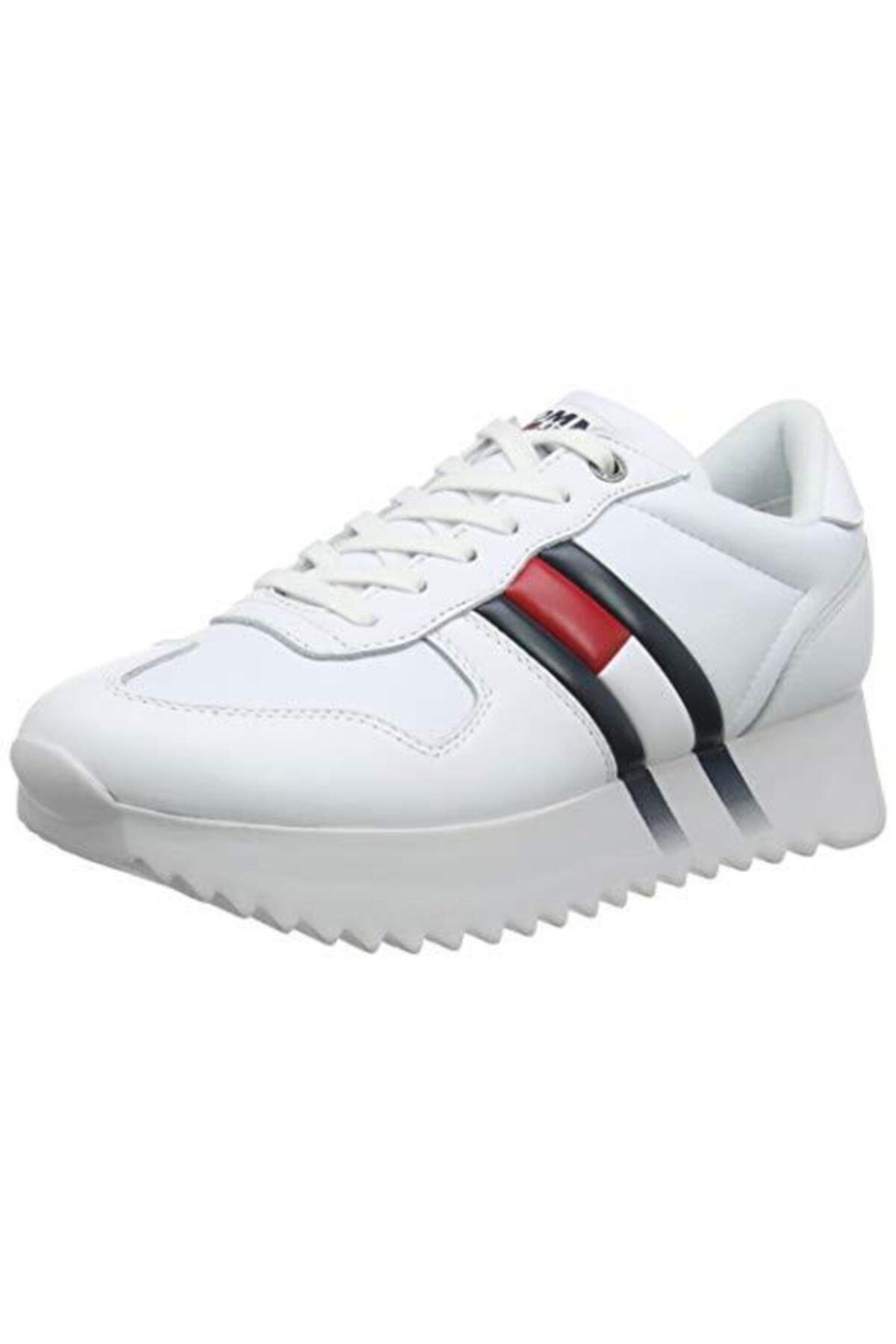 Tommy Hilfiger Tommy Hifiger Sneakers Beyaz Kadın 2