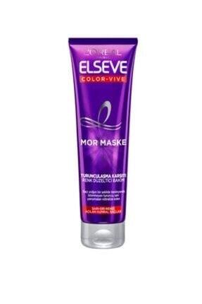 ELSEVE Color-vive Purple Maske Silver Mor Maske 150 Ml.
