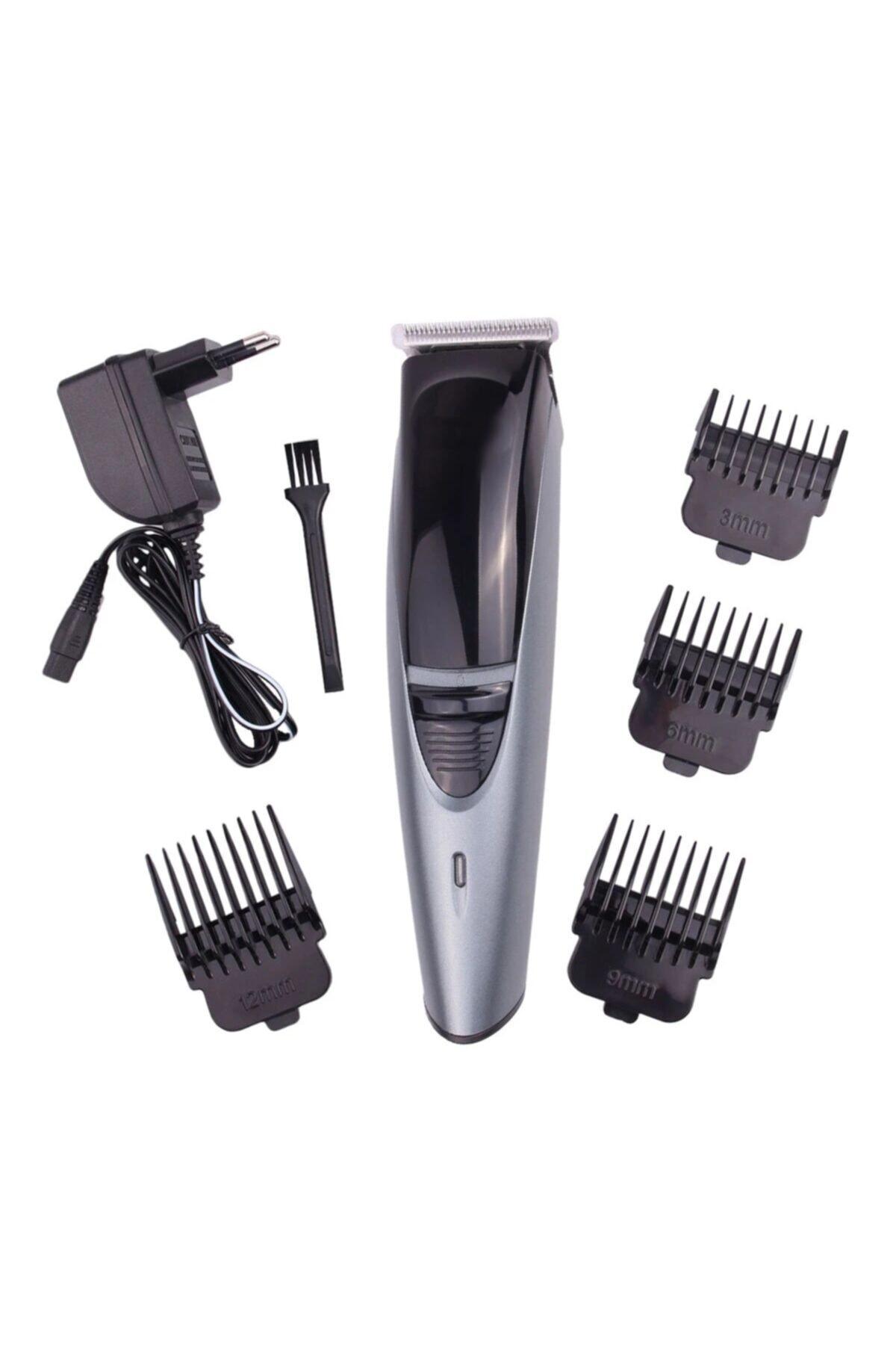 yopigo 6053 Erkek Tıraş Bakım Seti Şarjlı Saç Sakal Kesme Erkek Tıraş Makinesi 2