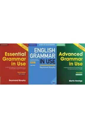 Cambridge Essential Grammar In Use + English Grammar In Use + Advanced Grammar In Use + With Answers + Cd