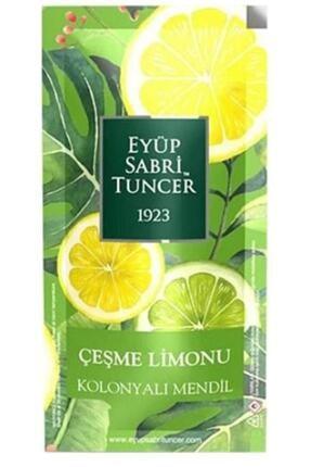 Eyüp Sabri Tuncer Çeşme Limonu Kolonyalı Mendil 150 Adet Küçük Boy
