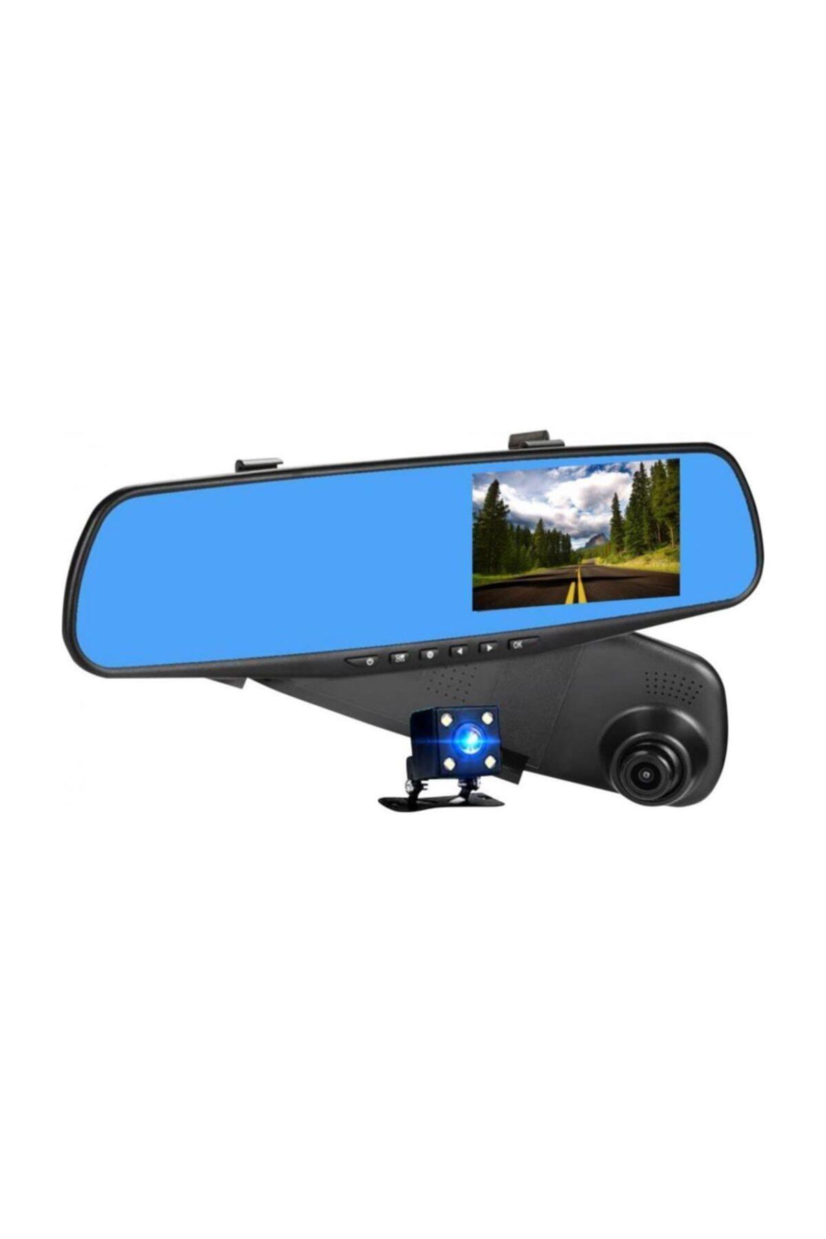 Concord Araç Içi Dikiz Ayna Kamerası 4.3 Inç Çift Kamera Türkçe 1080p 1