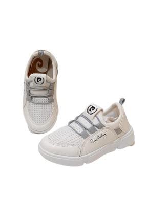 Pierre Cardin Unisex Çocuk Beyaz Spor Ayakkabı