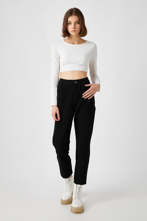 Koton Kadın Siyah Jeans 1KAK47391MD