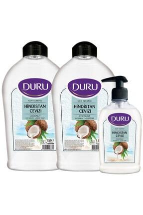 Duru Hindistan Cevizli Sıvı Sabun 1,5+1,5+300ml
