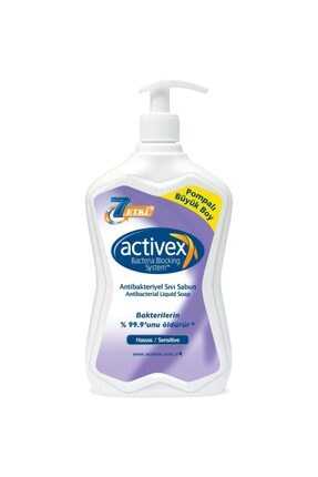 Activex Antibakteriyel Sıvı Sabun Hassas 700 ml