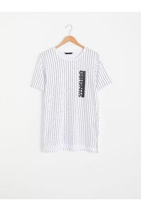 LC Waikiki Erkek Beyaz T-Shirt