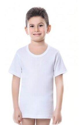 İki Yıldız Erkek Çocuk Yarım Kol Ribana Fanila 6'lı