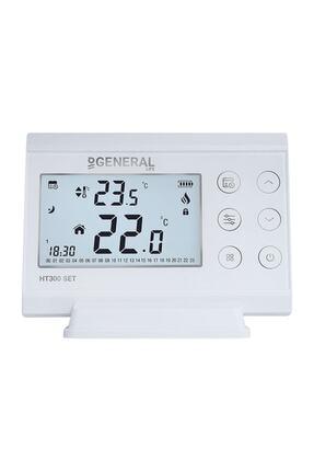 GENERAL Life Ht300 Set Proglamlanabilir Kablosuz Oda Termostatı