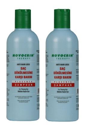 Novocrin Yeni Placenta Saç Dökülmesine Karşı Bakım Şampuanı 300 Ml 2 Li Paket