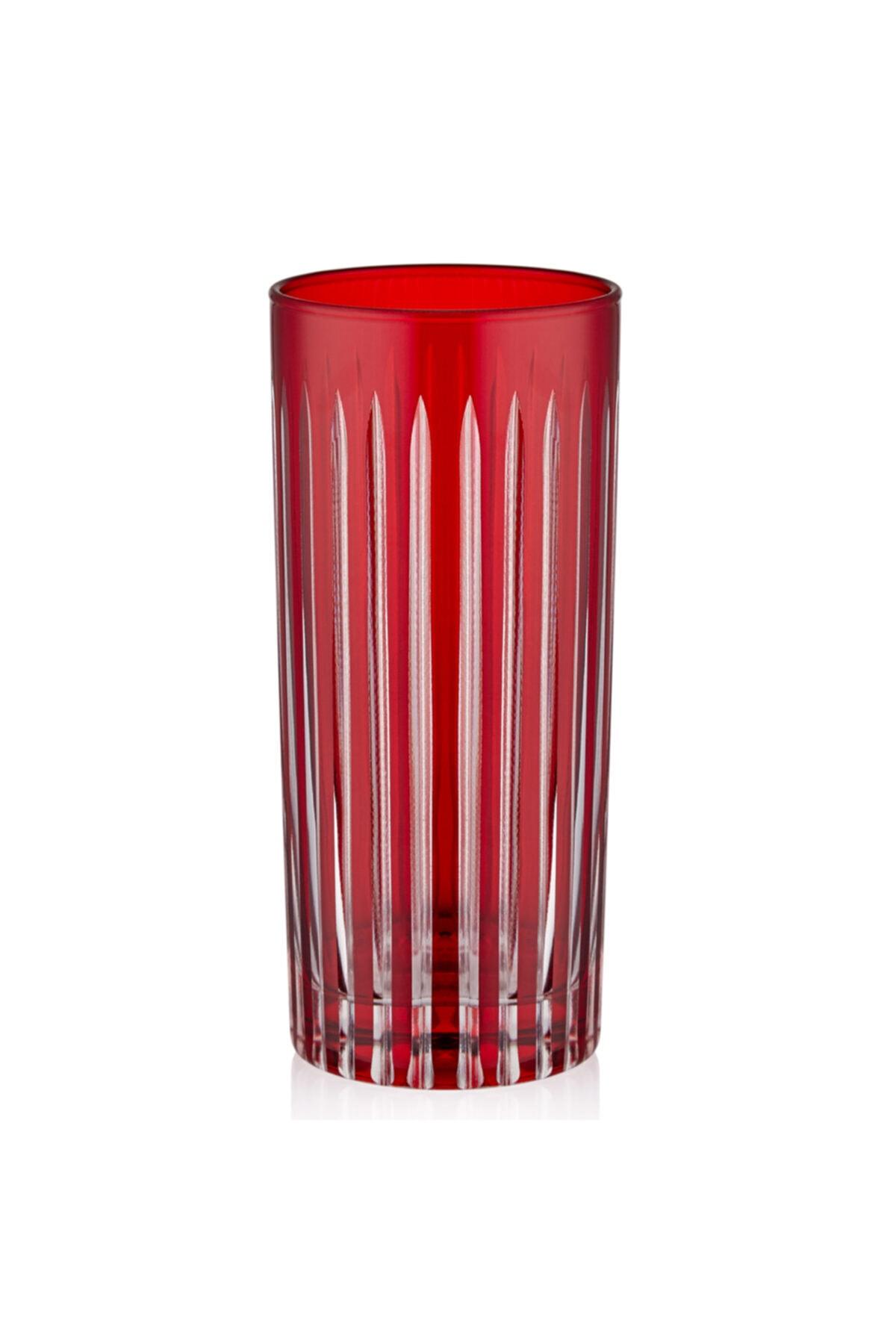 CHIARA ALESSI Stella Kırmızı Su Bardağı 1