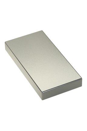 Dünya Magnet 1 Adet 80mm X 40mm X 10mm Köşeli Süper Güçlü Büyük Neodyum Mıknatıs