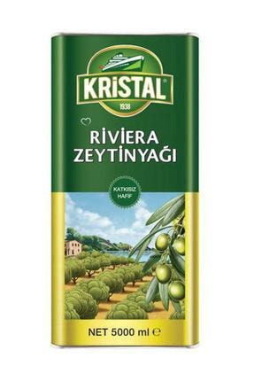 Kristal Riviera Zeytinyağı Teneke 5 Lt