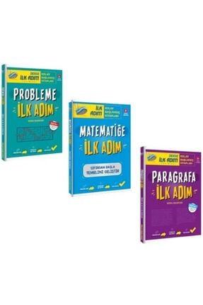 İlk Adım Yayınları Matematik Problemler Paragrafa Ilk Adım Soru Bankası Seti