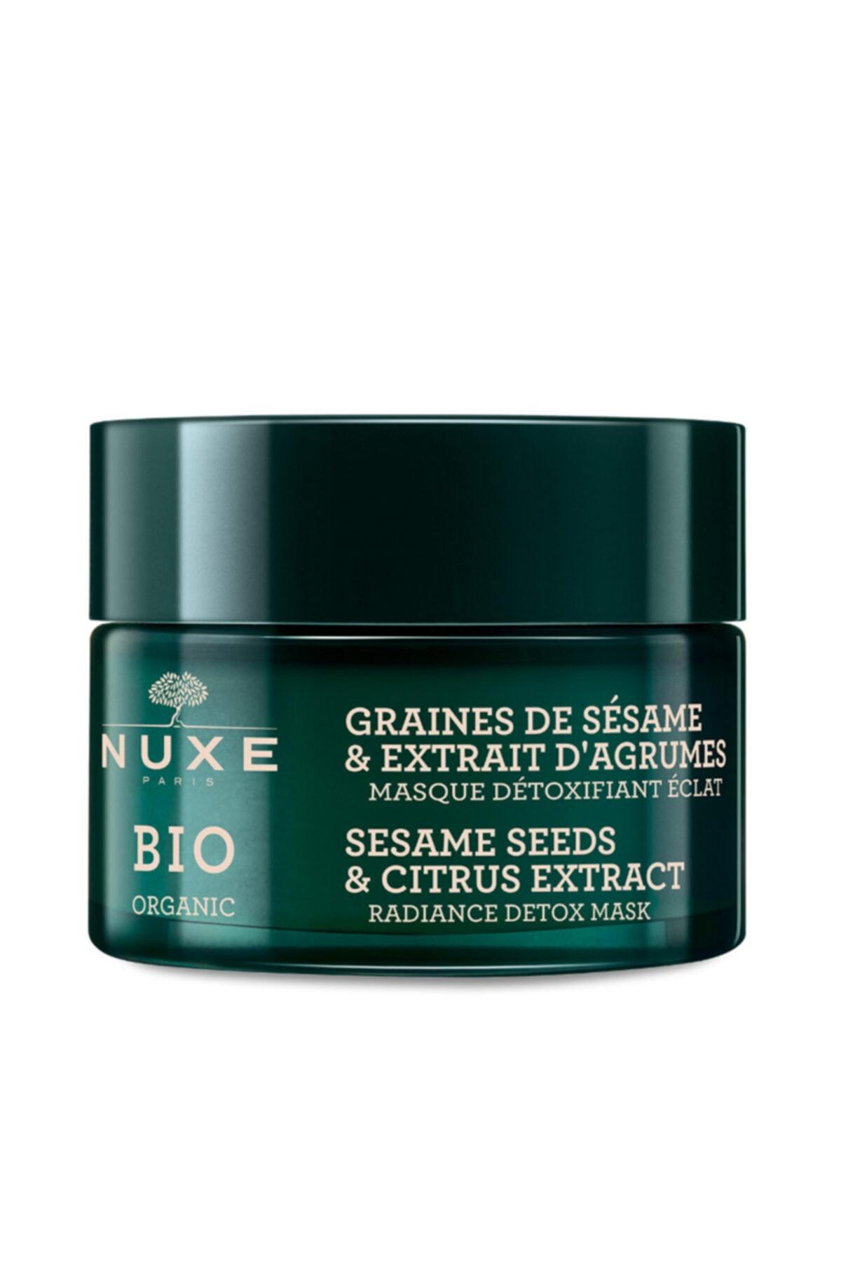 Nuxe Bio Organic Aydınlatıcı Detoks Maske 50 ml 1