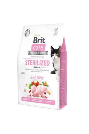 Brit Care Sterilised Tahılsız Sensitive Tavşanlı Kısırlastırılmış Kedi Maması 2 Kg