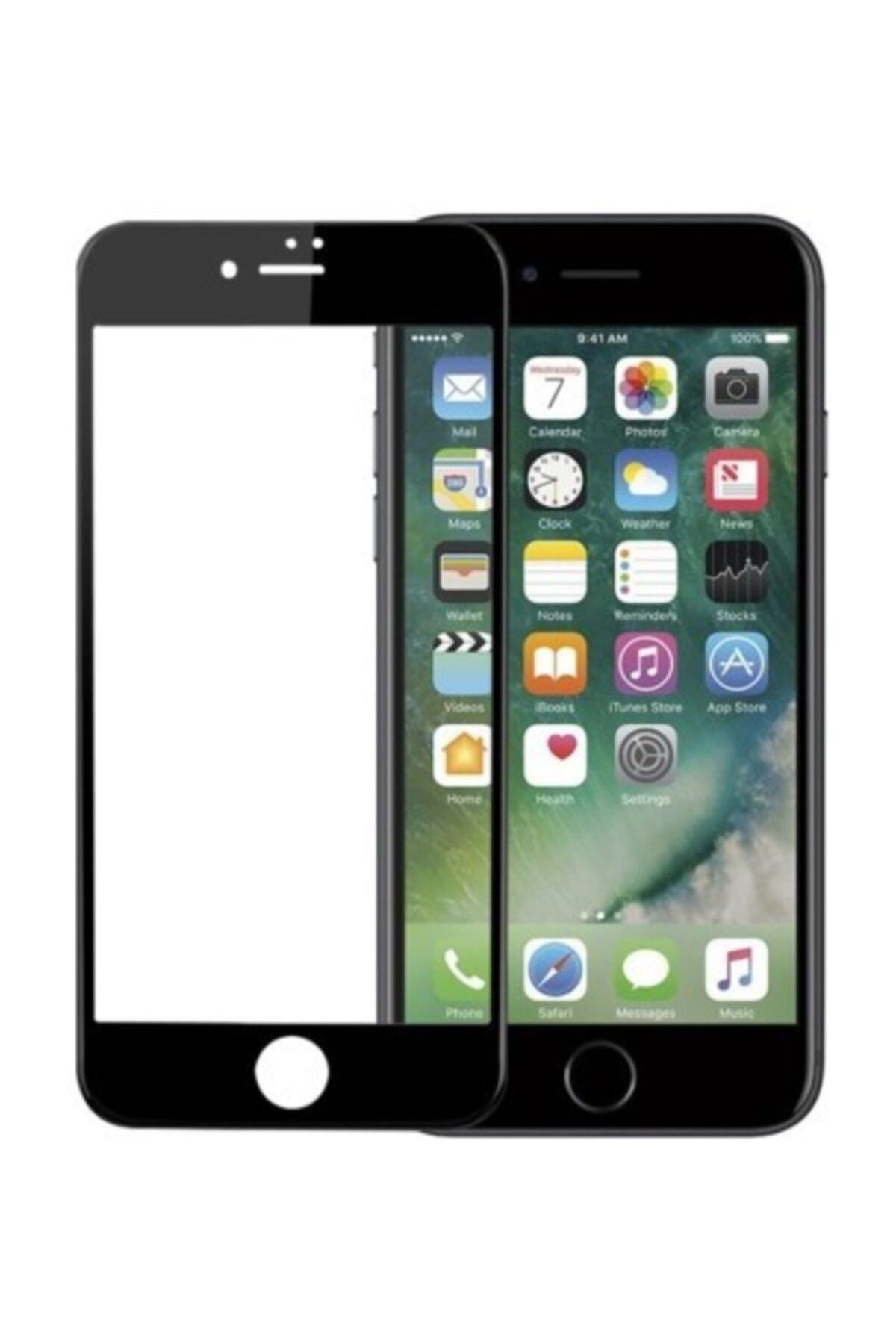 Sunix Iphone 6 Plus 6s Plus Kırılmaz Cam 5d 6d 9d Tam Kaplayan Ekran Koruyucu Siyah 1