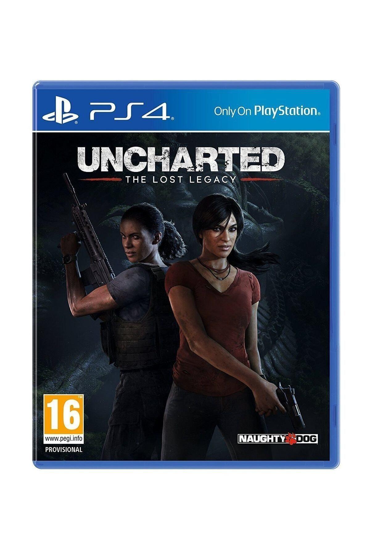 Naughty Dog Uncharted Kayıp Miras  - Türkçe Dublaj Ps4 Oyun 1