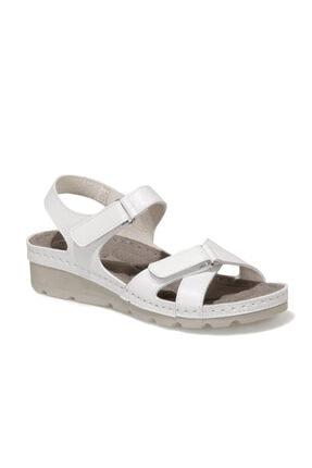 Polaris 161957.Z1FX Beyaz Kadın Sandalet 101020003