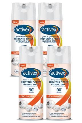 Activex Hijyenik Kumaş Ve Yüzey Spreyi 400ml X 4 Adet