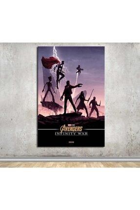 caddeko Avengers Infinity War Kanvas Tablo Dkmfl03  50x70cm