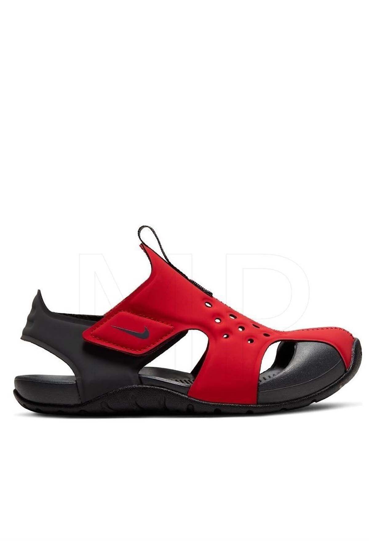 Nike Unisex Çocuk Kırmızı Sandalet Ayakkabı 943826-603 Sunray Protect 2 ps 1
