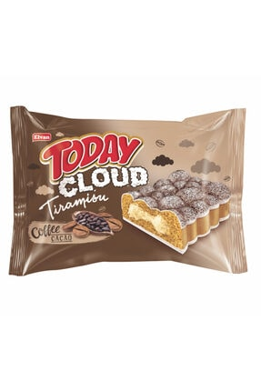 Elvan Today Cloud Kek Tiramisulu 50 Gr. 24 Adet (1 Kutu)