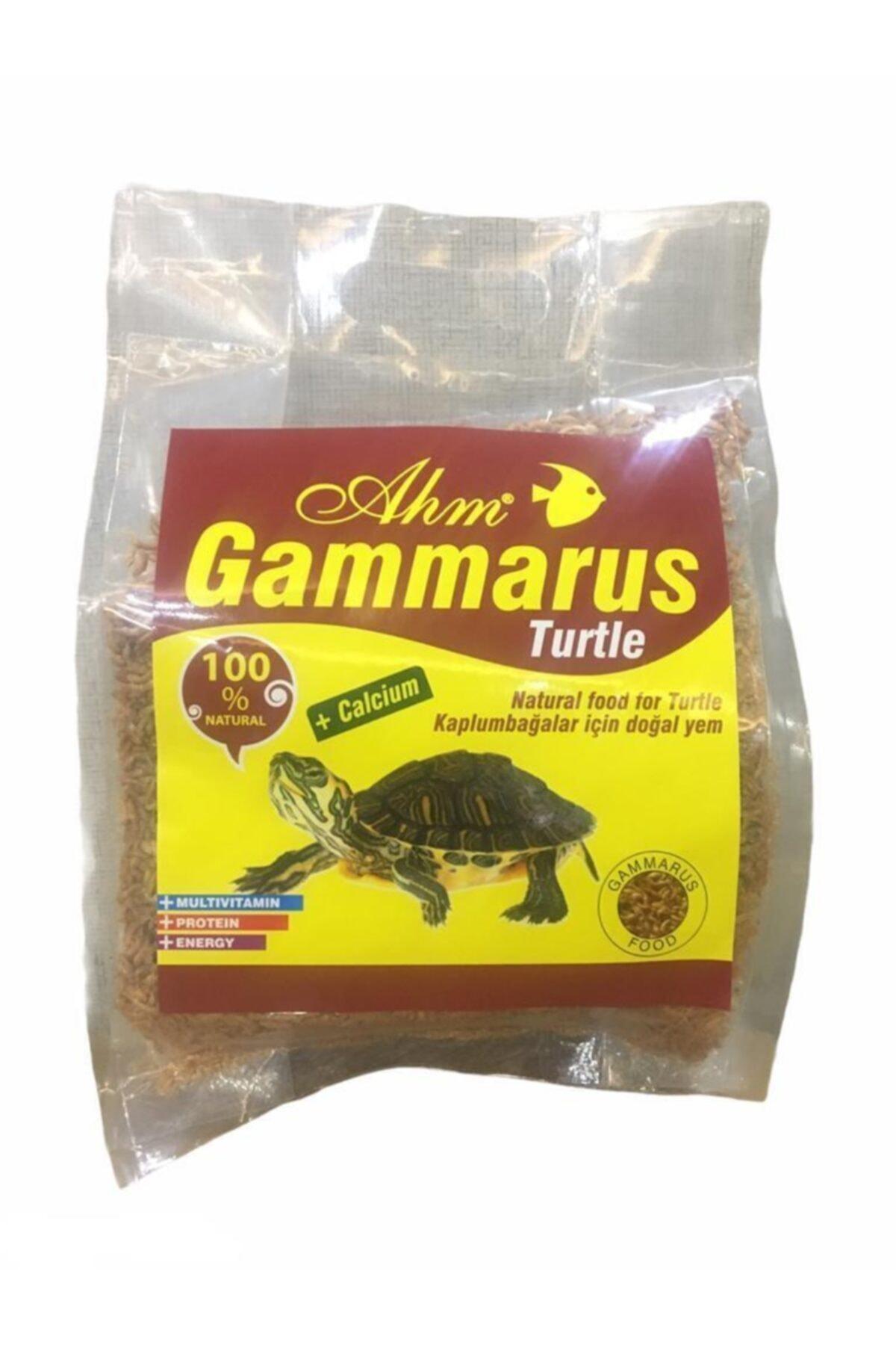 Ahm Gammarus Kaplumbağa Yemi Poşetli 500 gr 1
