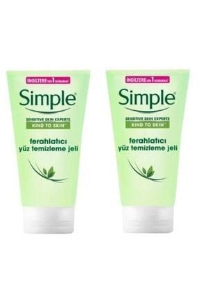 Simple Sensitive Skin Ferahlatıcı Yüz Temizleme Jeli 150 ml X 2 7777777177437