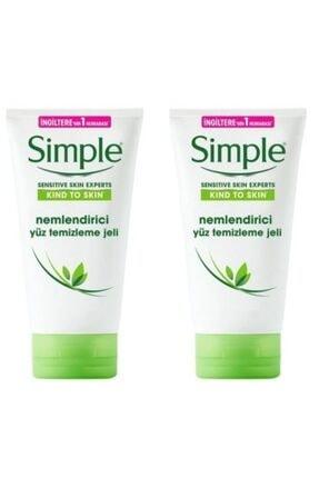 Simple Sensitive Skin Nemlendirici Yüz Temizleme Jeli 150 ml X 2 7777777177436