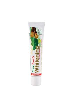 Farmasi Eurofresh Aloe Veralı Misvaklı Beyazlatıcı Diş Macunu 25 Ml
