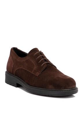 Tergan Kahverengi Süet Deri Erkek Ayakkabı 55015b85