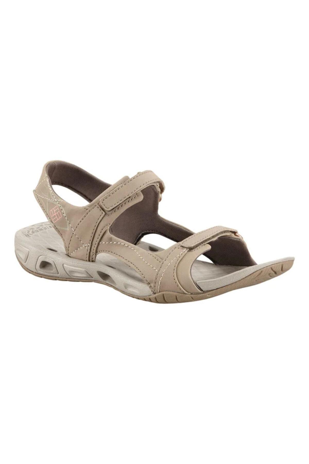Columbia Kadın Bej Cırtlı Sandalet 1