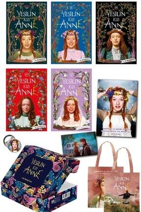 Ephesus Yayınları Yeşilin Kızı Anne Set (5 Kitap Kutulu Set) - L. M. Montgomery 9786257077729