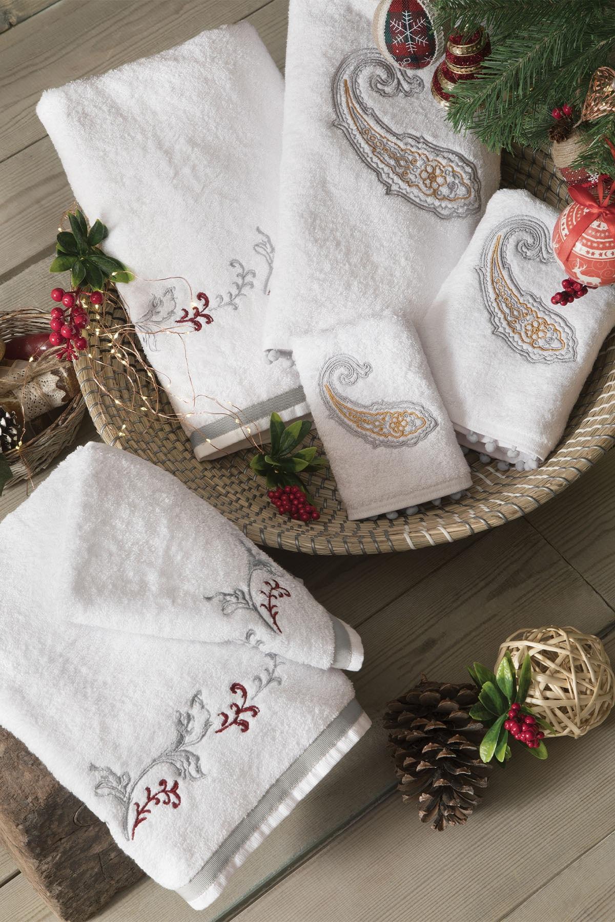 Yataş Bedding Carpa El Havlusu - Beyaz 2