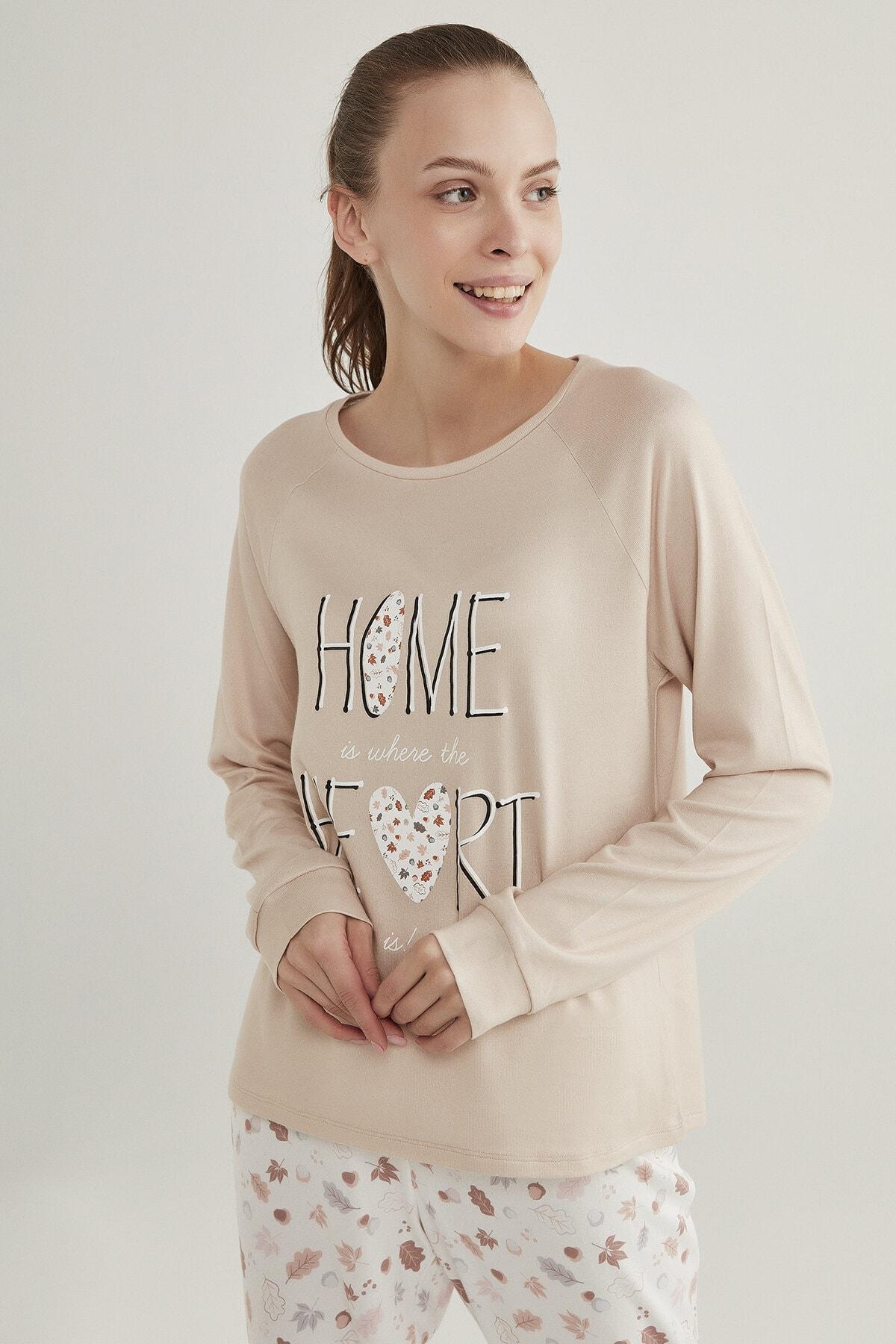 Penti Kadın Acorn Termal Tişört 2