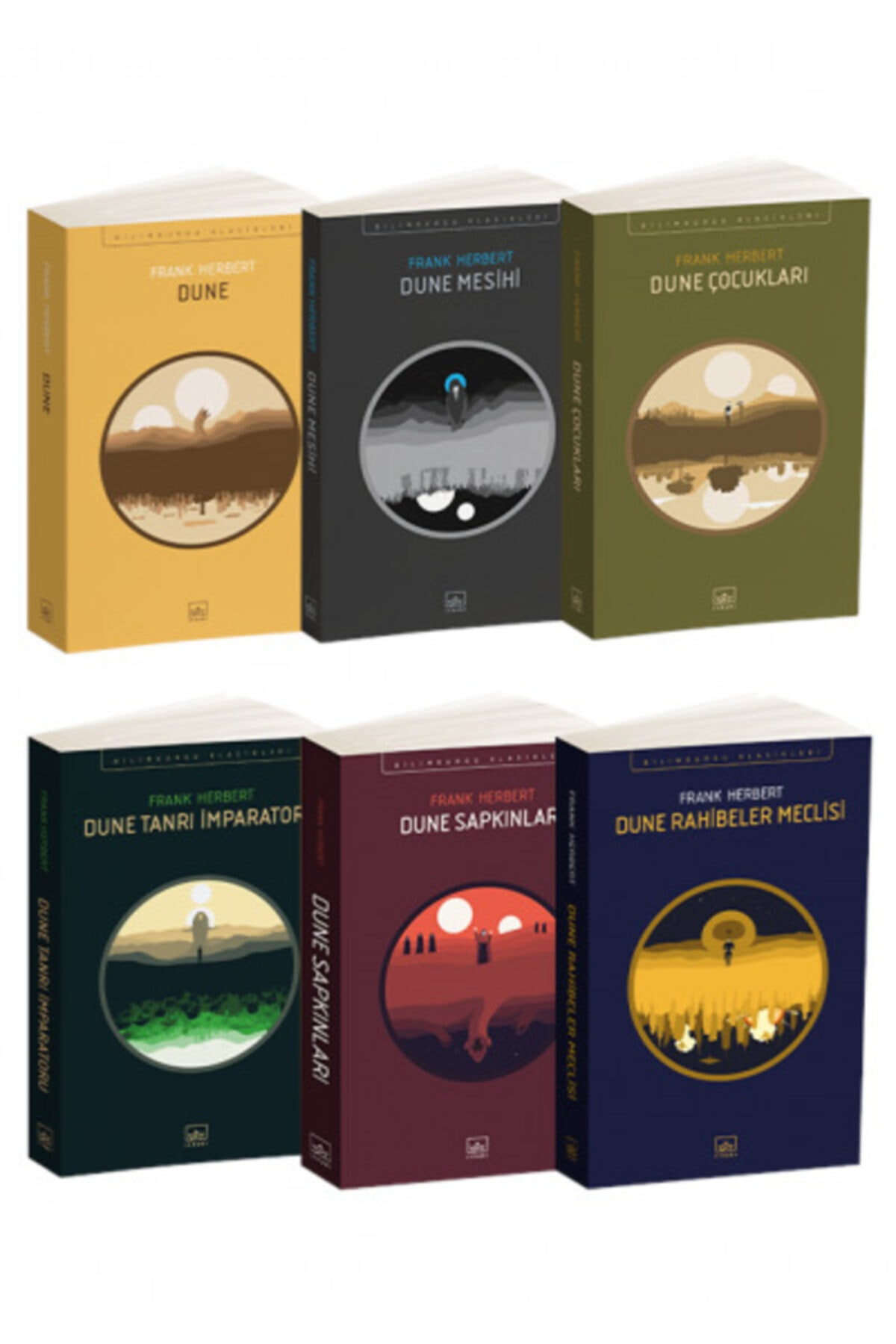 İthaki Yayınları Dune Seti (6 Kitap Takım) 1