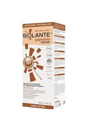 Solante Pigmenta Tinted Güneş Koruyucu Losyon Spf 50 150 ml