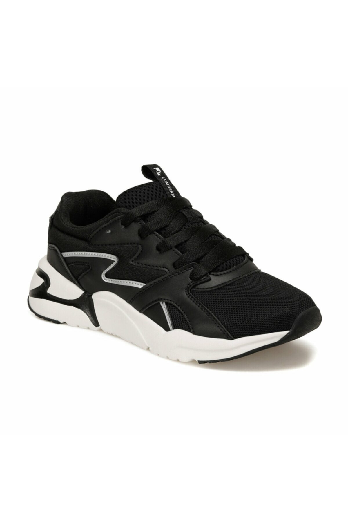 lumberjack PUZZLE Siyah Kadın Sneaker Ayakkabı 100497250 1