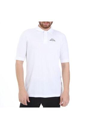 Kappa Erkek Polo T-shirt Calsı Beyaz