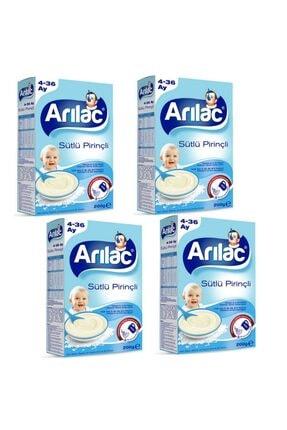 Arılac Sütlü Pirinçli Bebek Ve Küçük Çocuk Ek Gıdası 200 gr 4 Adet
