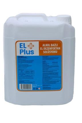 EL PLUS Carefect El+ Plus Antiseptik %82 Alkol Bazlı El Ve Cilt Dezenfektanı 5 Lt (Ekşi Kokmaz)