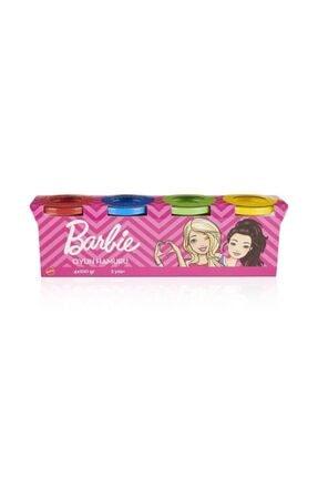 Barbie Oyun Hamuru  Paket 4x100gr 4' Lü