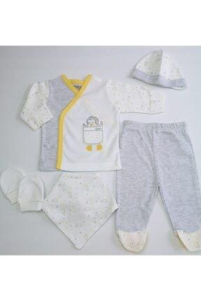 Ciccim Baby Bebek Gri Zıbın Set
