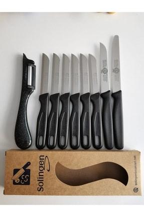 Solingen Siyah Mat Bıçak Seti