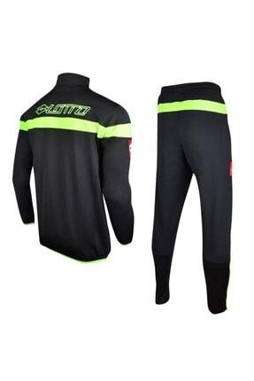 Lotto Suit Costa N4212 Antrenman Eşofman Takımı Siyah/yeşil
