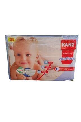 Kanz Bebek Bezi 6 Numara Mega Paket 15-25 Kg 40 Adet