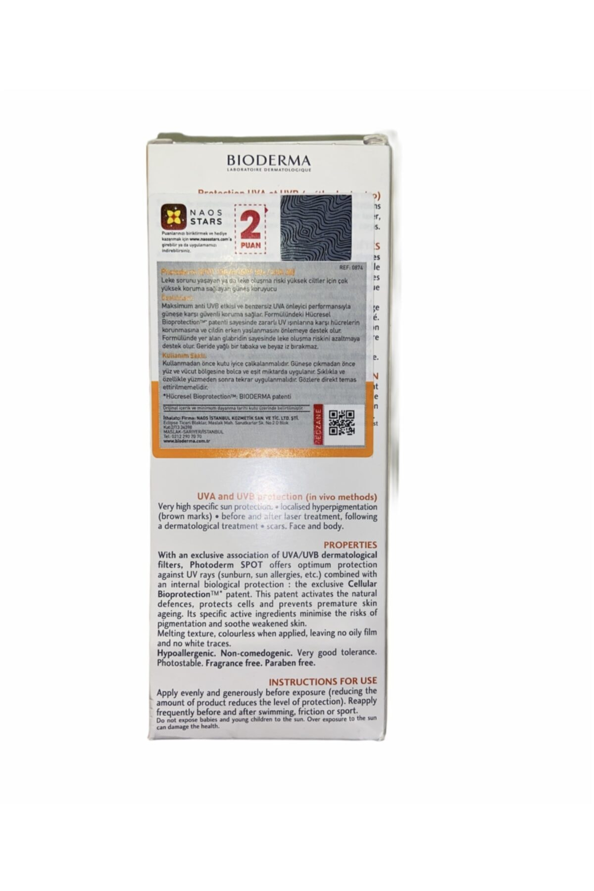 Bioderma 500ml Sensibio H2o Hediyeli - Photoderm Spot Spf 50+ Leke Karşıtı Güneş Kremi 150ml Skt2022 2