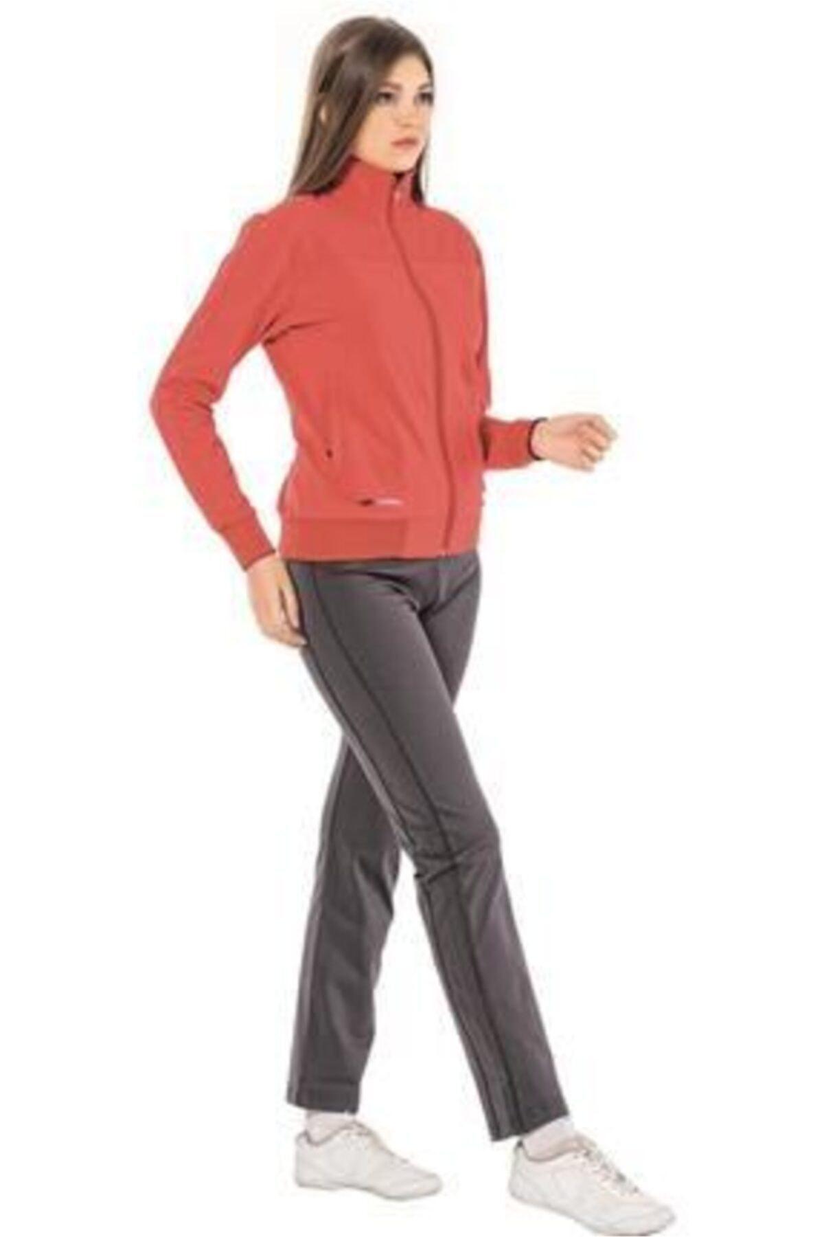 Crozwise Kadın Pembe Dalgıç Kumaş Takım 1227 1